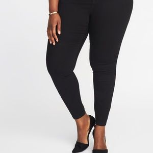 Brand New Old Navy Plus Black Jeans